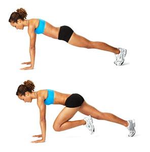 2. Упражнение скалолаз