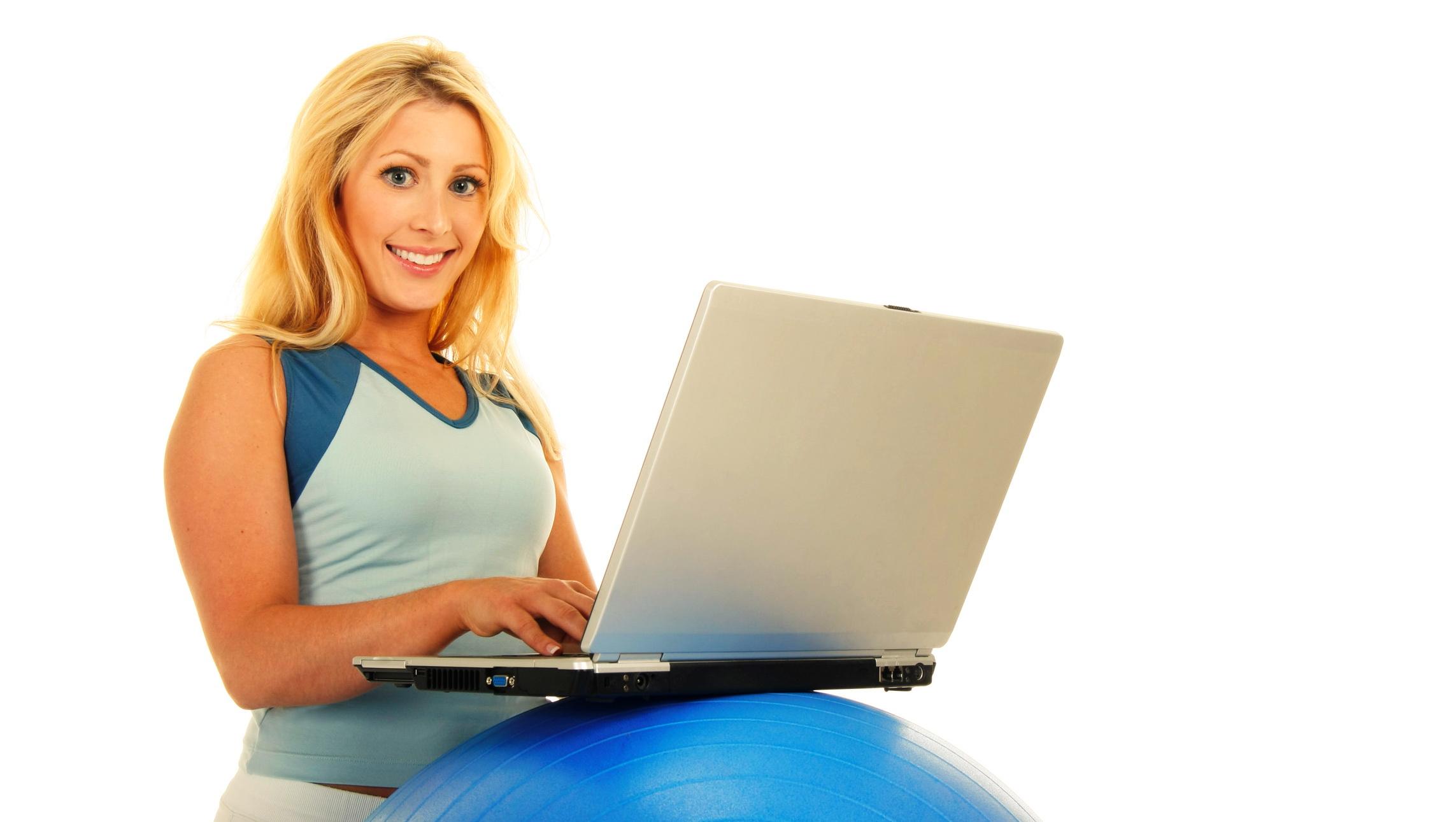 Фитнес онлайн с сексуальными девушками 14 фотография