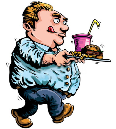 13826628-cartoon-fat-man-with-fast-food